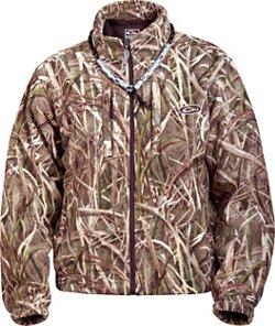 Drake Men's MST Advantage Max-4 HD Camo Fleece Pullover