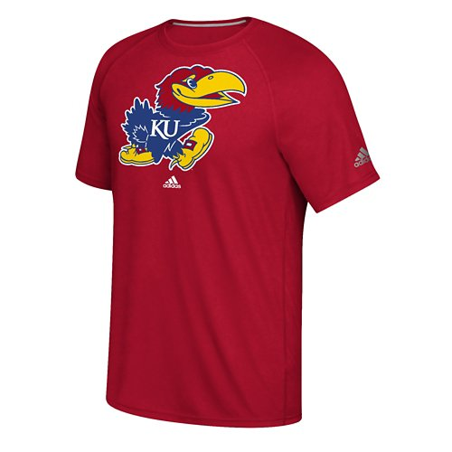 adidas Men's University of Kansas School Logo Ultimate T-shirt