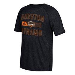 adidas Men's Houston Dynamo climalite Short Sleeve T-shirt