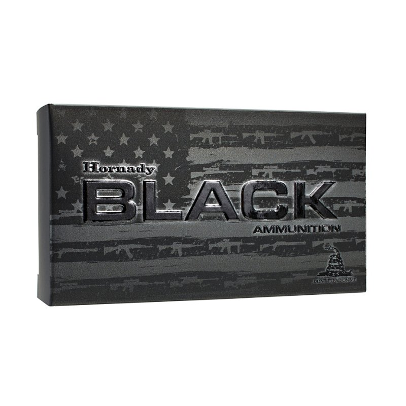Hornady Black 6.5mm Creedmoor BTHP 140-Grain Rifle Ammunition – Rifle Shells at Academy Sports