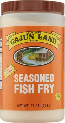 Cajun Land Brand 27 oz Fish Fry Seasoning