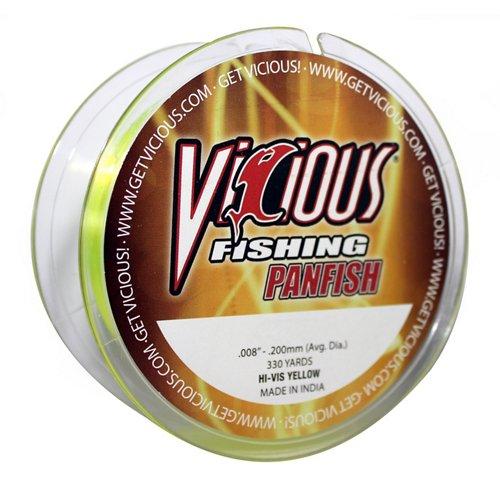 Vicious 330 yds Hi-Vis Panfish Fishing Line