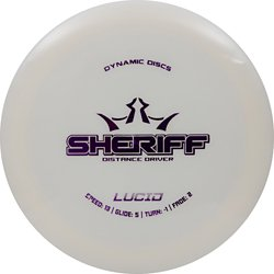 Dynamic Discs Lucid Sheriff Disc Golf Disc