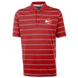 Antigua Men's Atlanta Hawks Deluxe Polo Shirt