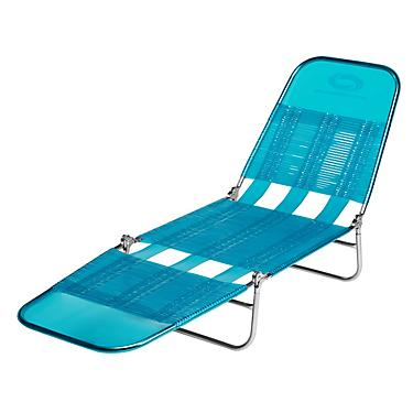 Surprising Orageous Vinyl Strap Lounger Gmtry Best Dining Table And Chair Ideas Images Gmtryco