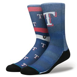Stance Men's Texas Rangers Splatter Socks