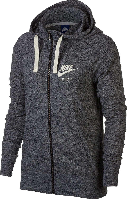 20d13ca6e332 Nike Women s Gym Vintage Full Zip Hoodie