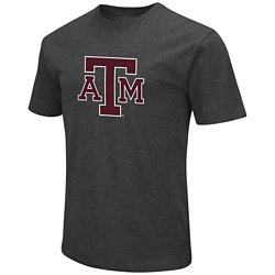 Colosseum Athletics Men's Texas A&M University Logo T-shirt