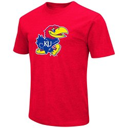 Colosseum Athletics Men's University of Kansas Logo T-shirt