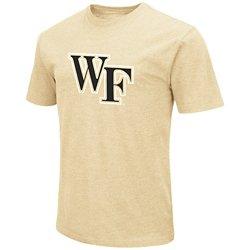 Colosseum Athletics Men's Wake Forest University Logo T-shirt