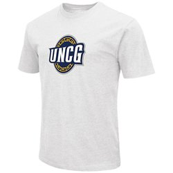 Colosseum Athletics Men's University of North Carolina at Greensboro Logo T-shirt