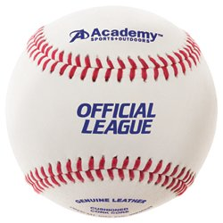 Academy Sports + Outdoors Leather Baseballs 12-Pack