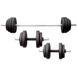 100 lbs Vinyl Weight Set