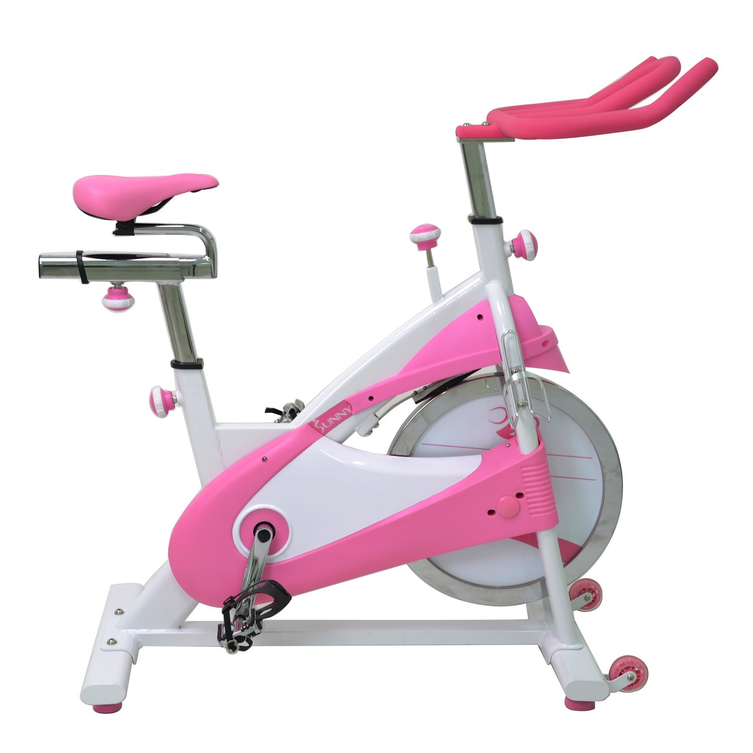 Sunny Health & Fitness Belt Drive Premium Indoor Cycling Bike - view number 2