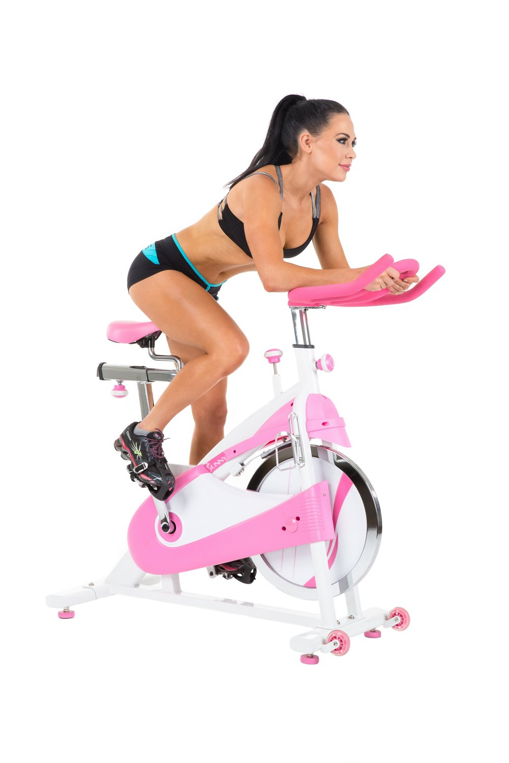 Sunny Health & Fitness Belt Drive Premium Indoor Cycling Bike - view number 4