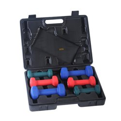 Neoprene Dumbbell Set with Case