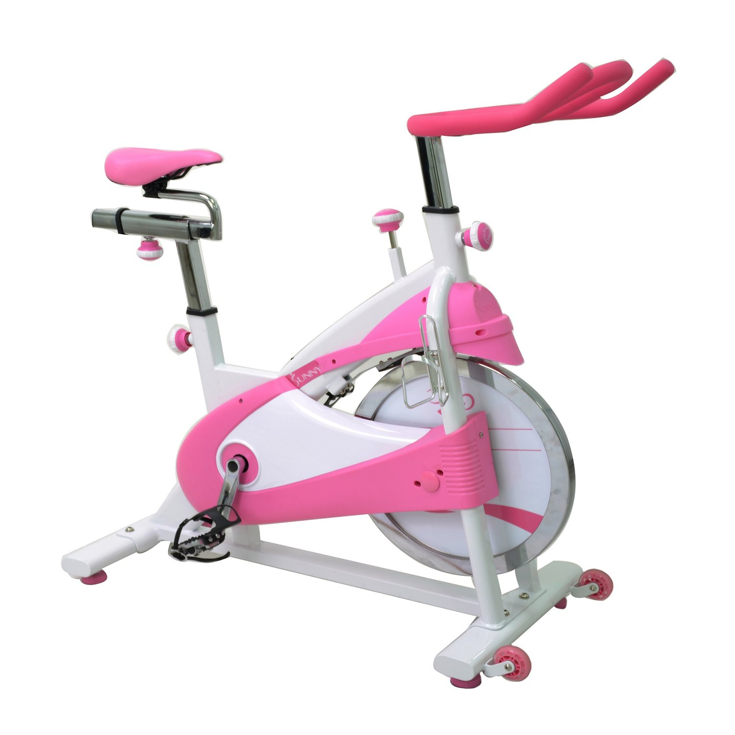 Sunny Health & Fitness Belt Drive Premium Indoor Cycling Bike - view number 3