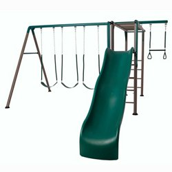 Monkey Bar Swing Set