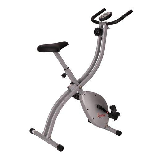 Sunny Health & Fitness Magnetic Folding Exercise Bike