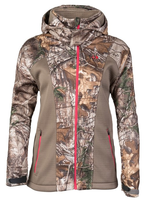 10X Women's Lockdown Camo Softshell Jacket - Camo Clothing, Ladies Non-Insulated Camo at Academy Sports thumbnail