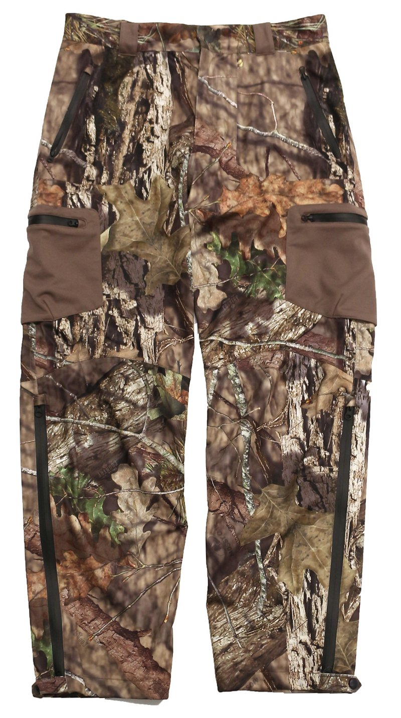 10X Men's Silent Storm Rainshell Pant - Camo Clothing, Adult Non-Insulted Camo at Academy Sports thumbnail