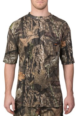 Walls Men's Short Sleeve Camo Pocket T-shirt
