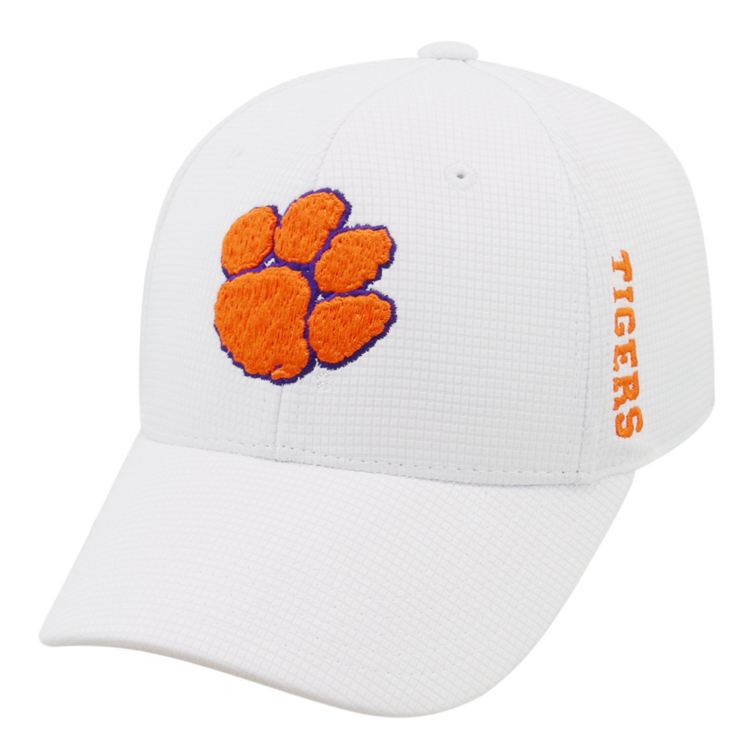 reputable site 43bab e295d Top of the World Men s Clemson University Booster Plus Flex Cap   Academy