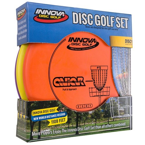Innova Disc Golf DX Stack Pack 3-Disc Disc Golf Set