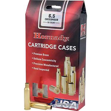 Hornady 6.5mm Creedmoor Unprimed Cases