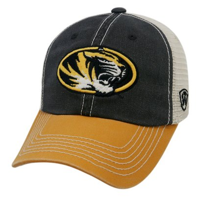 3c1e210ee81 Top of the World Men s University of Missouri Offroad Adjustable Cap ...