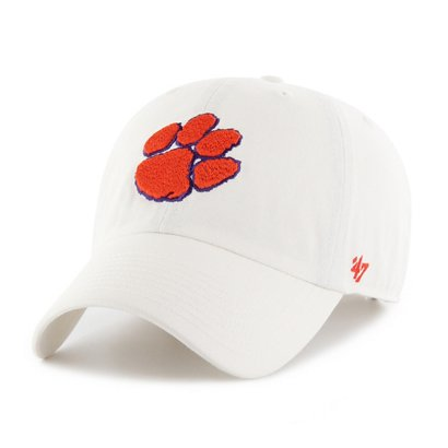 0d09a4f1e355c ... tigers football cu baseball cap hat fitted 1889 destroyed 62a27 61c68 promo  code 47 clemson university cleanup cap 192b7 a2d6c ...