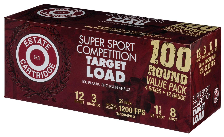 Estate Cartridge Super Sport Competition Target Load 12 Gauge Shotshells