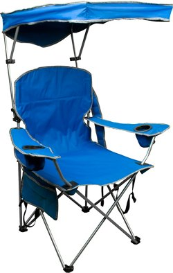 Adjustable Shade Canopy Folding Camping Chair