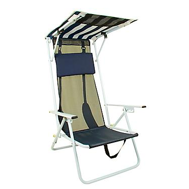 Pleasant Quik Shade Adjustable Shade Canopy Folding Beach Chair Home Remodeling Inspirations Basidirectenergyitoicom