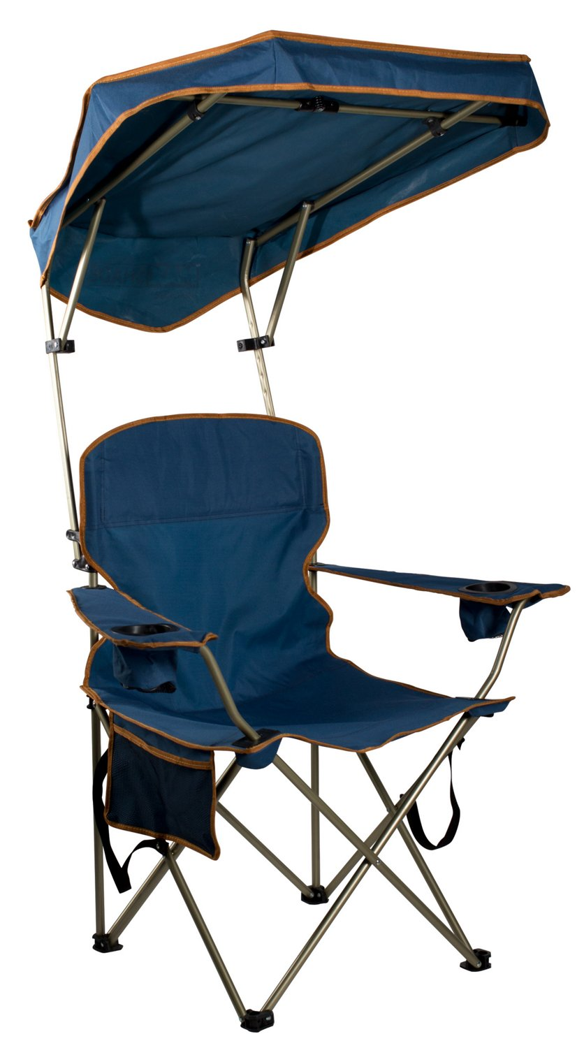 Marvelous Quik Shade Max Shade Adjustable Canopy Folding Camping Chair Machost Co Dining Chair Design Ideas Machostcouk