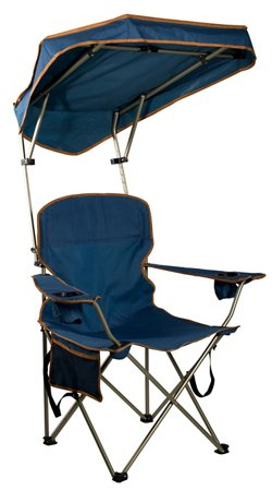 Quik Shade MAX Shade Adjustable Canopy Folding Camping Chair