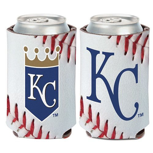 WinCraft Kansas City Royals Ball Design 12 oz Can Cooler