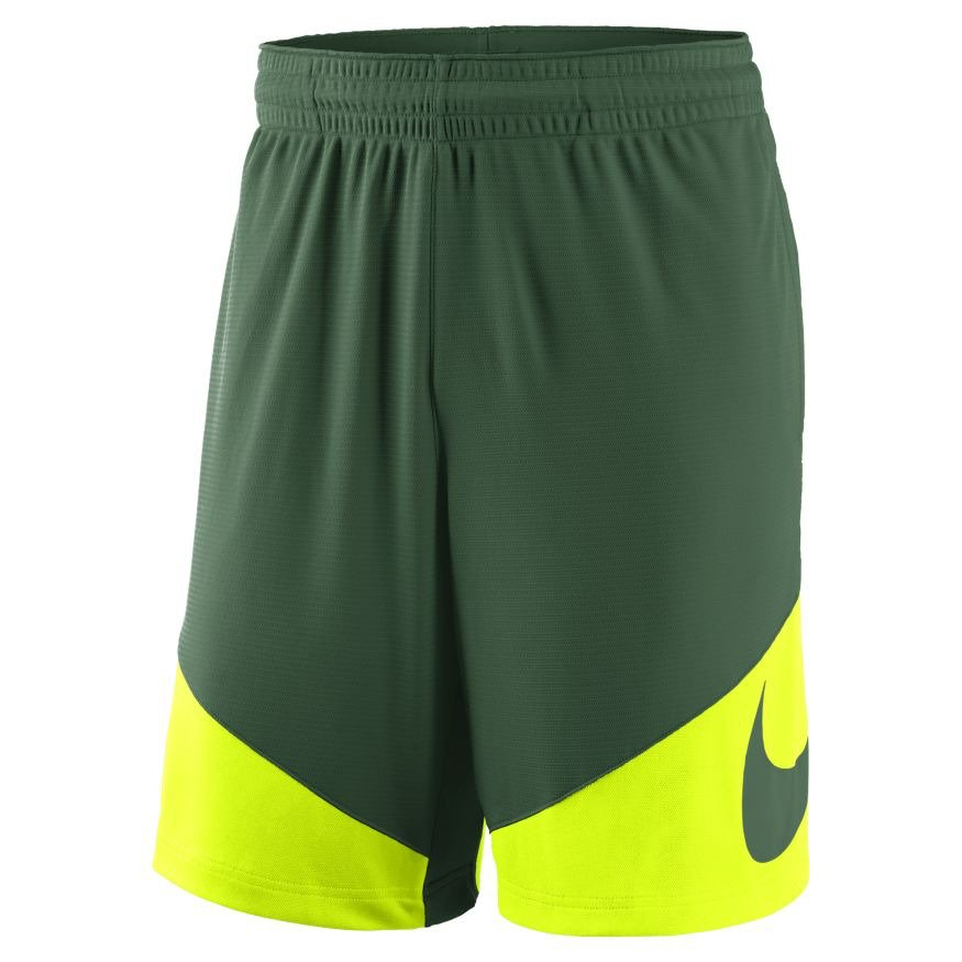 Nike Men's Baylor University Sideline Basketball HBR Short