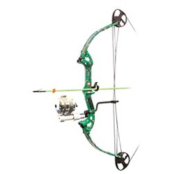 Discovery Bowfishing Bow with Muzzy Reel