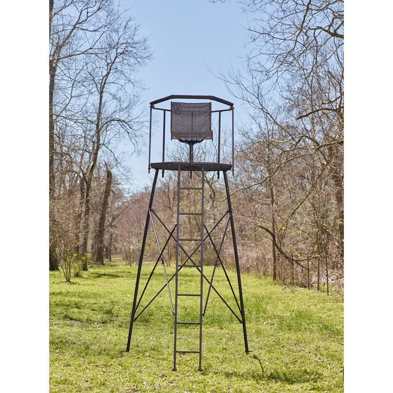Game Winner 10 ft Tripod Hunting Stand Black – Hunting Stands/blinds/accessories at Academy Sports