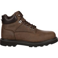 Brazos Men's Tradesman Steel Toe Lace Up Work Boots