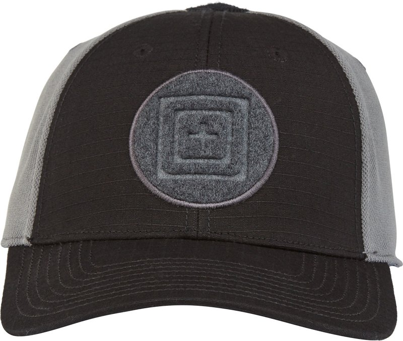 5.11 Tactical Men's Downrange 2.0 Cap (Black, Size Medium/Large) - Men's Outdoor Apparel, Men's Hunting/Fishing Headwear at Academy Sports thumbnail