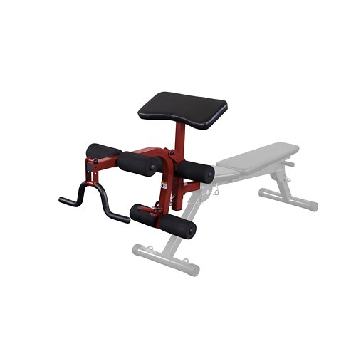 Body-Solid Best Fitness Leg Developer and Preacher Curl Attachment