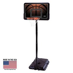 "Lifetime 44"" Polyethylene Portable Basketball Hoop"