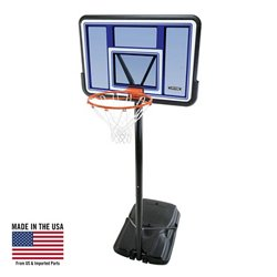 "44"" Polycarbonate Portable Basketball Hoop"