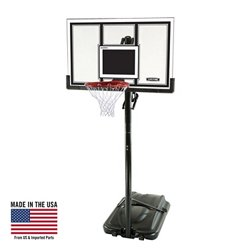 54 in Portable Polycarbonate Basketball Hoop