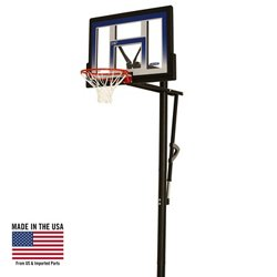 "Lifetime 48"" Action Grip Polycarbonate Inground Basketball Hoop"