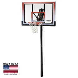 "50"" Shatterproof Makrolon® Inground Basketball Hoop"