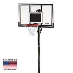 "54"" Makrolon® Inground Basketball Hoop"