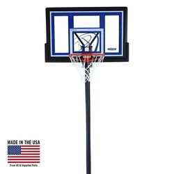 Courtside 48 in Portable Polycarbonate Basketball Hoop